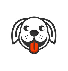 dogs logo designs inspirations vector image