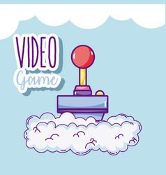 Videogame cartoons concept vector