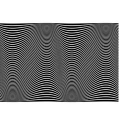 Wavy lines texture vector