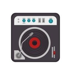 vinyl technology device vector image