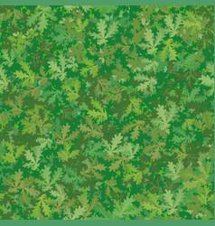 seamless background oak leaves vector image vector image
