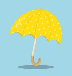 April showers yellow umbrella 15 vector