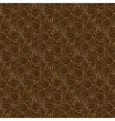 Brown background dotted line vector