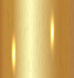Brushed Gold Background vector image