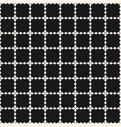 grid seamless pattern geometric texture square vector image