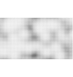 halftone dots background overlay pattern vector image