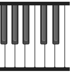 Octave piano key vector