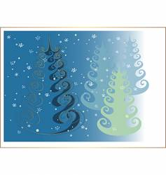 positively christmastree vector image