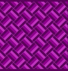 seamless geometric square pattern design vector image