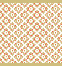 Simple ornament seamless pattern background vector