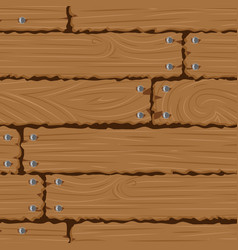 texture wooden wall seamless background vector image
