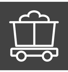 Trolley vector image