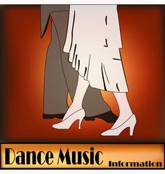 Deco Ballroom Dance vector image