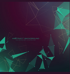 modern abstract futuristic technology style vector image vector image