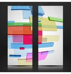 Abstract Rectangle Background vector image vector image