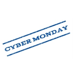 Cyber Monday Watermark Stamp vector