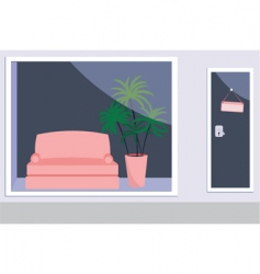 furniture shop vector image