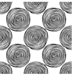 Hand drawn doodle abstract black and white vector