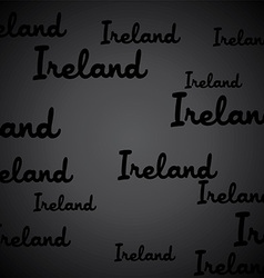 Ireland pattern vector