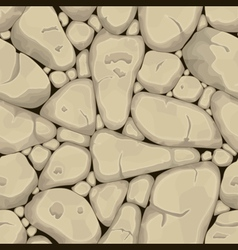 Sand stone seamless background vector image vector image