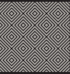 seamless surface geometric design repeating tiles vector image