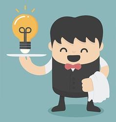 Serving idea vector