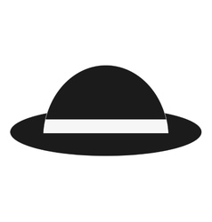single hat icon vector image