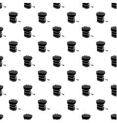 tennis ball machine pattern seamless vector image