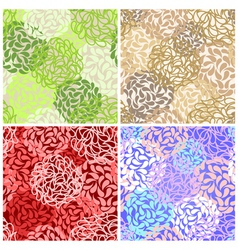 seamless colorful abstract vector image vector image