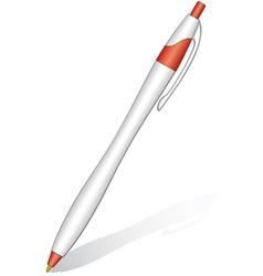 Ball pen vector image