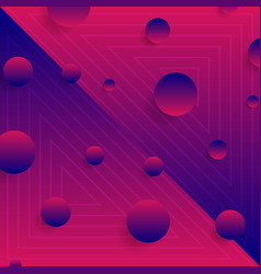 blue purple abstract neon geometric minimal vector image