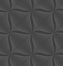 Dark geometrical diagonal onion shape embossed vector