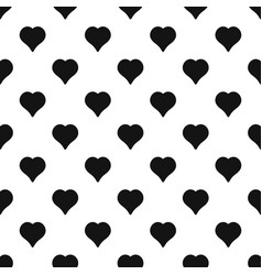 Magnanimous heart pattern seamless vector