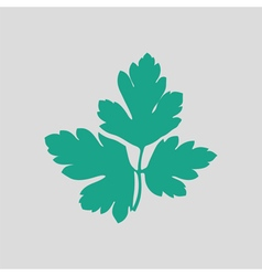Parsley icon vector image