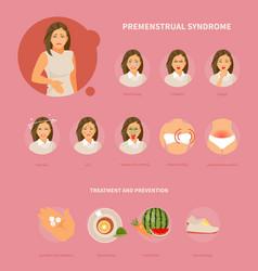 Premenstrual syndrome vector