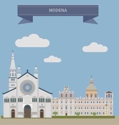 Modena vector image vector image