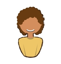 people woman profile icon image vector image