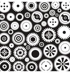 Background of gears4 vector