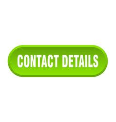 contact details button rounded sign on white vector image