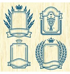Four labels vector