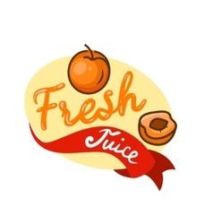 Fresh juice emblem 4 vector