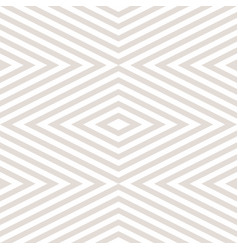 Geometric seamless pattern with zigzag stripes vector