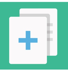 Add or Copy Document Icon vector image