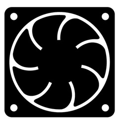 computer fan vector image