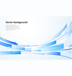 Abstract blue geometric background vector