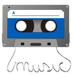 adudio cassette vector image