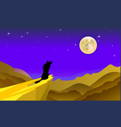 cartoon background featuring the silhouette of a vector image