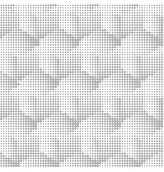 halftone geometric seamless abstract background vector image