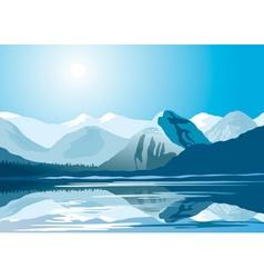 Polar Landscape vector