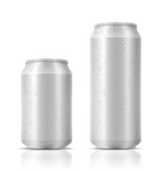 beer in can stock vector image